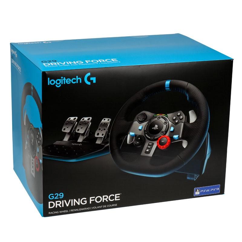 Logitech-Driving-Force-G29-Wheel-amp-Gearstick-Bundle