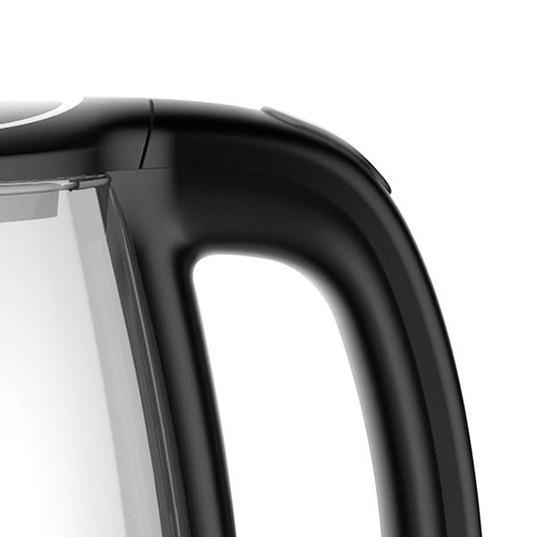 Bouilloire en verre Evvoli 1,7 litre avec corps en verre de haute qualité