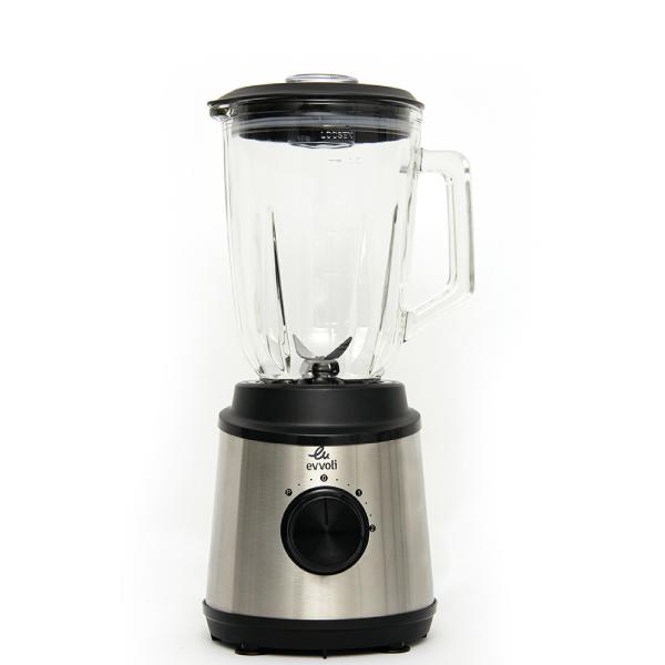 Blender avec bocal en verre 1.5Litre 2 vitesses 350W EVKA-BL15MB
