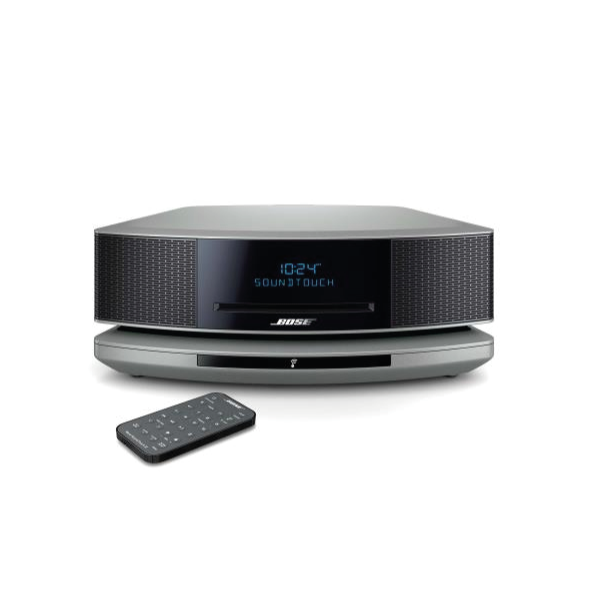 Micro chaine hifi Bose wave musique systeme sound touche IV argent