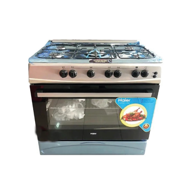 Cuisinière HAIER 5 feux 90/60 HCR 6050 inox